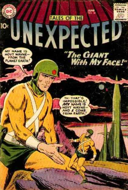 Tales of the Unexpected 38 - Astronaut - Hoyt - Wayne - Giant