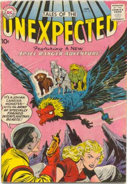 Tales of the Unexpected 45 - Jovian Carrier Monster - Sheldon Moldoff