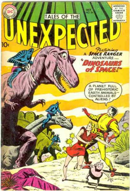Tales of the Unexpected 54 - Dinosaurs - Space Ranger - Aliens - Riding - Adventure
