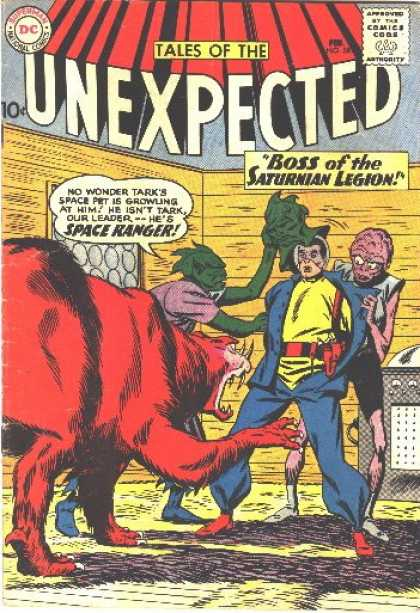 Tales of the Unexpected 58 - Superman National Comics - Approved By The Comics Code - Monster - Man - Mask