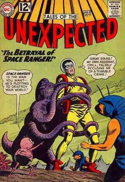 Tales of the Unexpected 71 - Space Ranger - Aliens