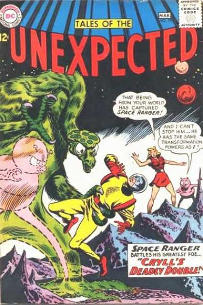 Tales of the Unexpected 75 - Space Ranger - Alien - Battles His Greatest Foe