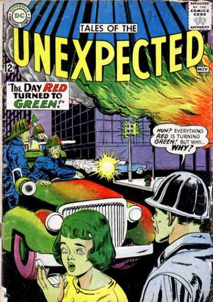 Tales of the Unexpected 85 - Fireman