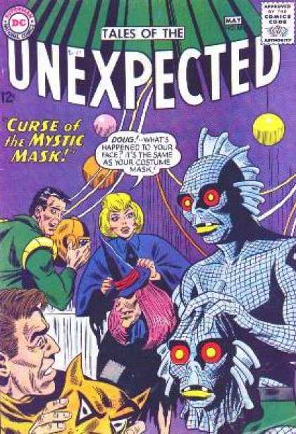 Tales of the Unexpected 88 - Dc - 12c - May - Comics Code A - Curse Of The Mystic Mask - Sheldon Moldoff
