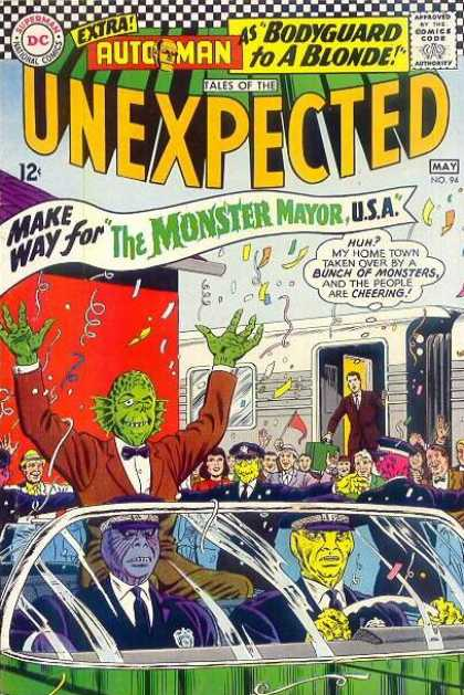 Tales of the Unexpected 94 - Aliens - The Monster Parade - Hurray For Monsters - Everybody Loves The Monster - The Winner Is The Monster - Murphy Anderson