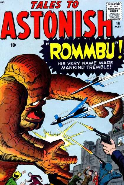 Tales to Astonish 19 - Dick Ayers, Jack Kirby