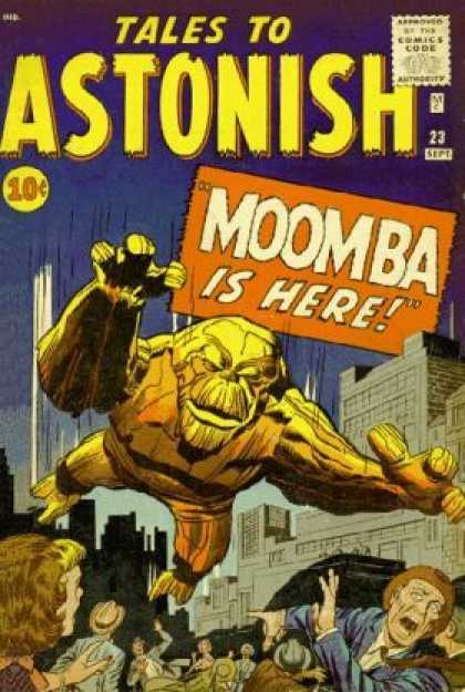 Tales to Astonish 23 - Approved By The Comics Code Authority - Moomba - Sept - Building - Men - Jack Kirby