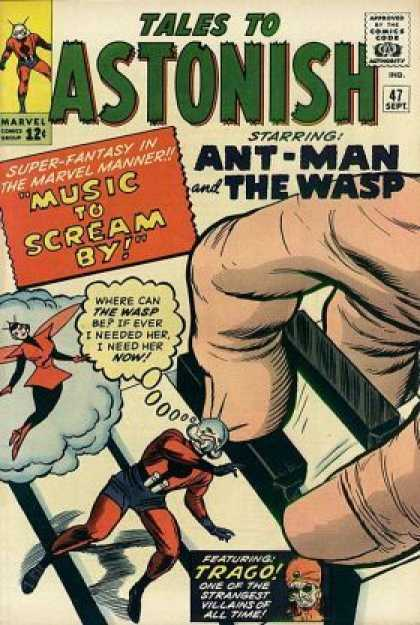Tales to Astonish 47 - Perfect For Someone Who Loves Bugs - Digusting - Not Something I Would Buy - Gross - Sickening - Jack Kirby