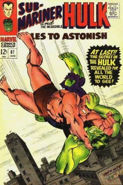 Tales to Astonish 87