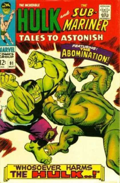Tales to Astonish 91