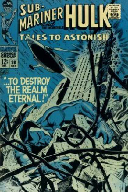 Tales to Astonish 98