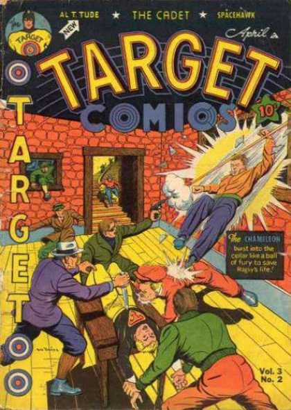 Target Comics 26 - Stairs - The Chameleon - Cellar - Spacehawk - The Cadet