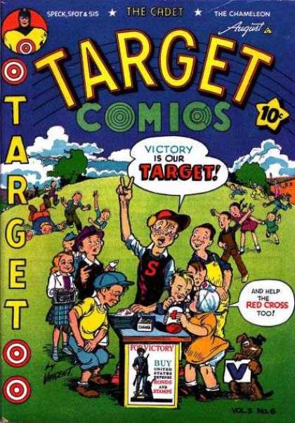 Target Comics 30 - The Cadet - The Chameleon - Help The Red Cross - Boys - Girls