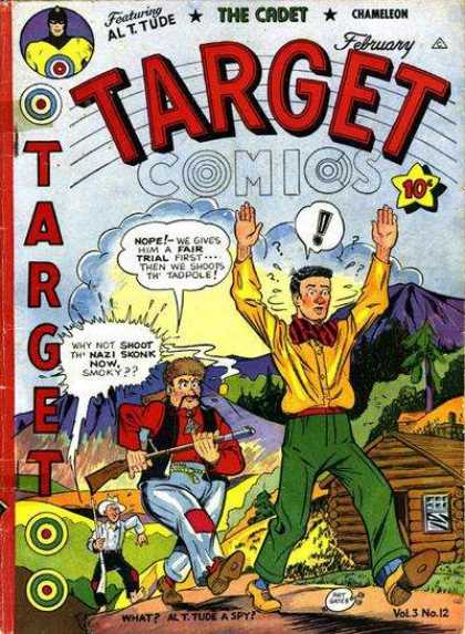Target Comics 36 - Alttude - The Cadet - Chameleon - February - Spy