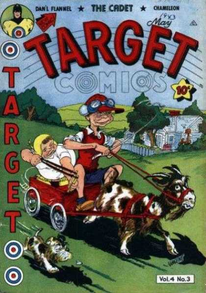 Target Comics 39 - Wagon - Goat - Children - Bully - Dog