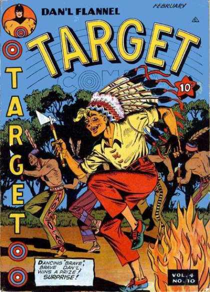 Target Comics 46 - Dancin - Bonfire - February - Dave - Prize