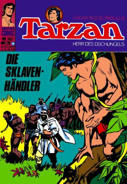 Tarzan (German) 21 - Guns - People - Turbans - Trees - Sklaven-handler
