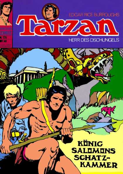Tarzan (German) 30 - Herr - Jungle - Edgar Rice Burroughs - King - Salomons