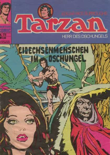Tarzan (German) 31 - Adventures Comics - Herr Des Dschungels - Woman - Costume - Man
