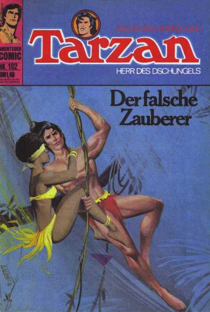 Tarzan (German) 41 - Derfalsche Zauberer - Loincloth - Jungle - African Girl - Vine Swinging