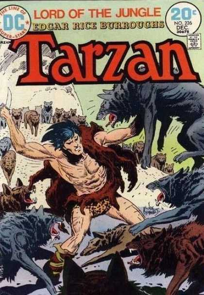 Tarzan of the Apes (1972) 20 - Wolf - Wolves - Joe Kubert