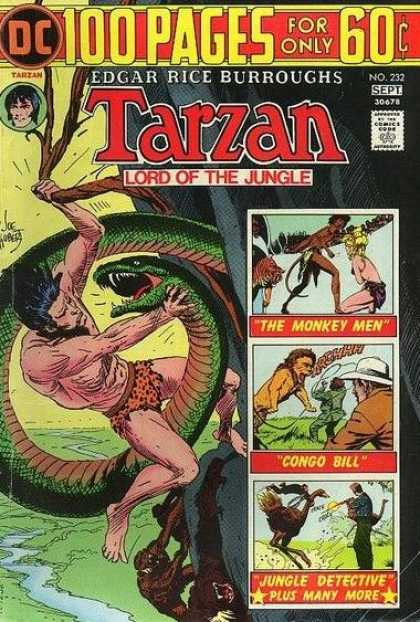 Tarzan of the Apes (1972) 26 - Edgar Rice Burroughs - Lord Of The Jungle - The Monkey Men - Congo Bill - Jungle Detective
