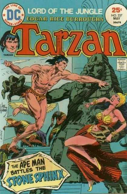 Tarzan of the Apes (1972) 31 - Sphinx