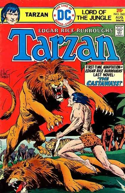 Tarzan of the Apes (1972) 34 - Tiger - Lion - Gorilla