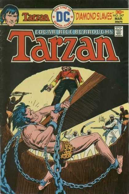 Tarzan of the Apes (1972) 41 - Gun - Daimon Slaves - Edgar Rice Burroughs - The Line Of Super Stars - No 247
