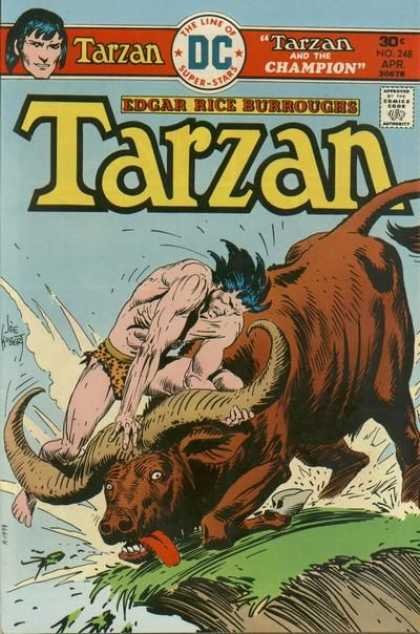 Tarzan of the Apes (1972) 42 - Dc - Animal - Edgar Rice Burroughs - April - 30 Cents