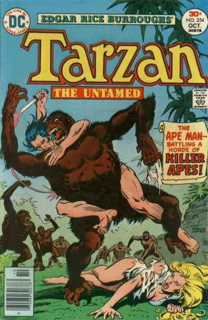 Tarzan of the Apes (1972) 48 - Killer Apes - Knife - Gorilla - Untamed - Ape Man