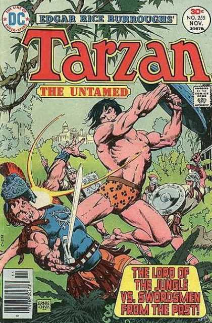 Tarzan of the Apes (1972) 49 - The Lord Of The Jungle Vs Swordsmen From The Past - Roman Centurions - Shields - Swords - Soldier Hit In Face