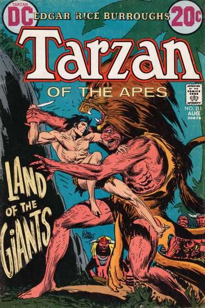 Tarzan of the Apes (1972) 5 - Knife - Edgar Rice Burroughs - Land Of The Giants - Lion Skin - Jungle