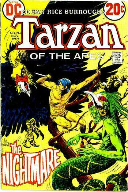 Tarzan of the Apes (1972) 8 - Vulture - Tree - Tarzan - Snakeman - Claws