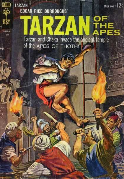 Tarzan of the Apes 10 - Edgar Rice Burroughs - Fire - Ape - Knifes - Tarzan