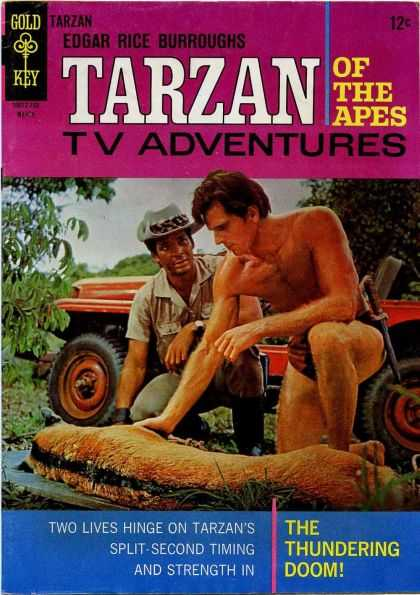 Tarzan of the Apes 32 - Lord Of The Jungle - Knife - Ranger - Jeep - Dead Or Sick Animal