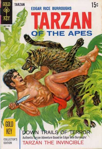 Tarzan of the Apes 50 - Jungle - Henna - Man - Knife - Leaves