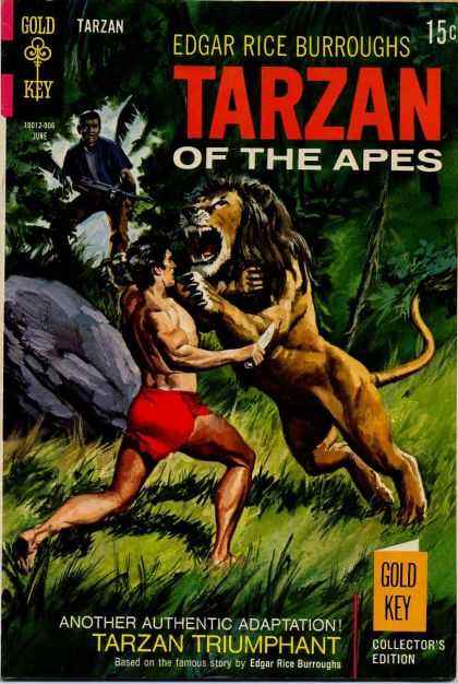Tarzan of the Apes 51 - Lion - Dagger - Gun - Hunter - Peril