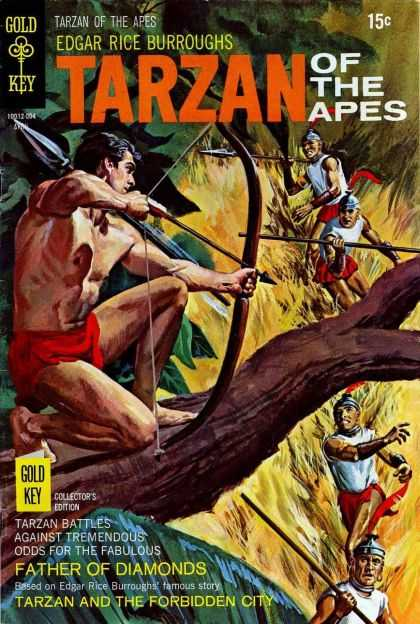 Tarzan of the Apes 58 - Bow And Arrow - Spears - Father Of Diamonds - The Forbidden City - Helmets