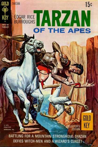 Tarzan of the Apes 65 - Edgar Rice Burroughs - Horse - Canyon - Montain Stronghold - Wizards Curse