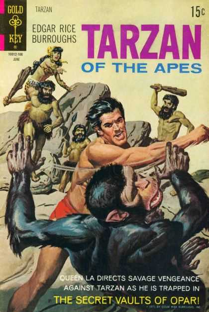 Tarzan of the Apes 67 - Battle - Cavemen - Queen La - Secret Vaults Of Opar - Edgar Rice Burroughs