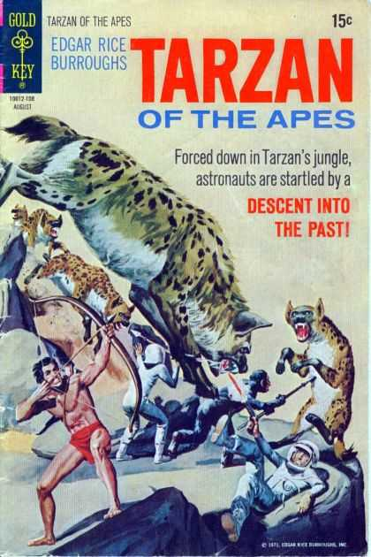 Tarzan of the Apes 69 - Edgar Rice Burroughs - Astronauts - Jungle - Hyenas - Descent Into The Past