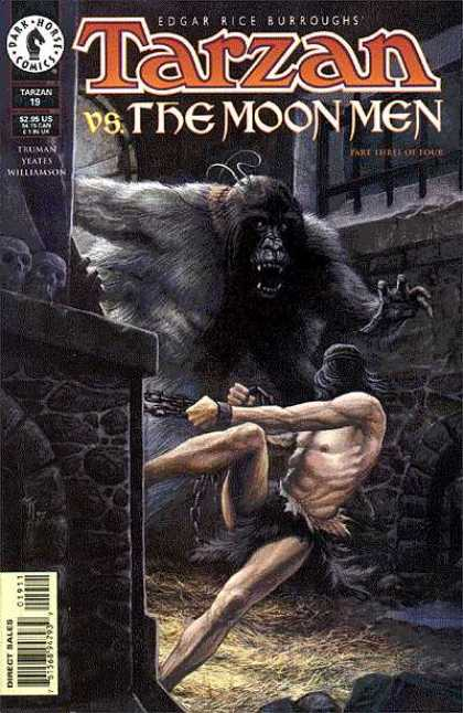 Tarzan 19 - Vs The Moon Men - Part Three Of Four - Edgar Rice Burroughs - Tarzan 19 - Truman Yeates Williamson - John Totleben