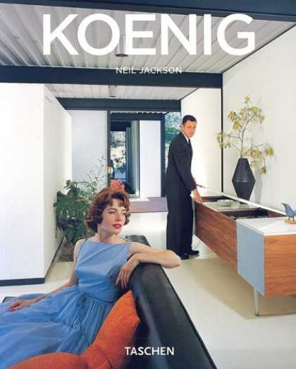 Taschen Books - Pierre Koenig: 1925-2005: Living with Steel (Taschen Basic Genre Series)