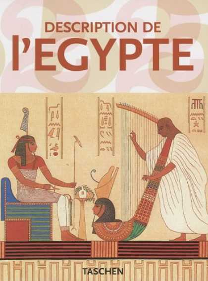 Taschen Books - Description de L'Egypte (Taschen 25th Anniversary Series) (French, German and Ja