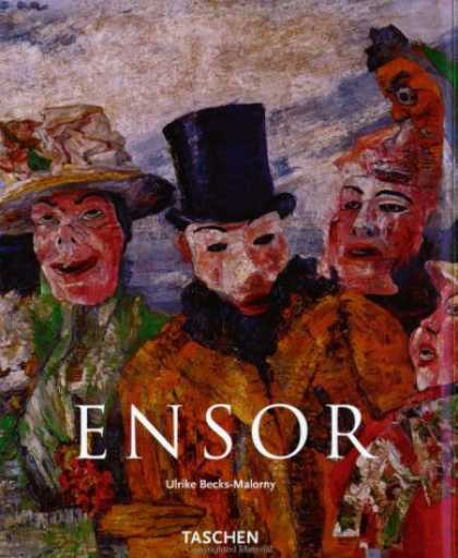 Taschen Books - James Ensor, 1860-1949: Masks, Death, and the Sea (Taschen Basic Art)