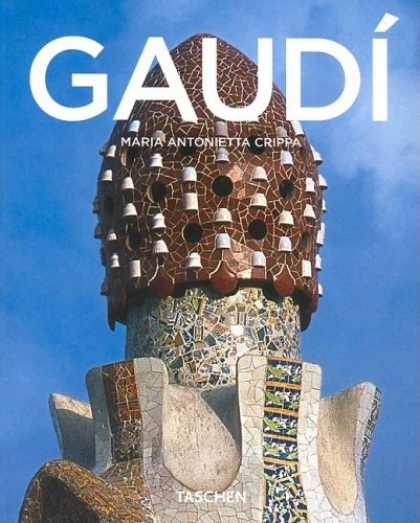 Taschen Books - Antoni Gaudi, 1852-1926: From Nature to Architecture (Taschen Basic Architecture