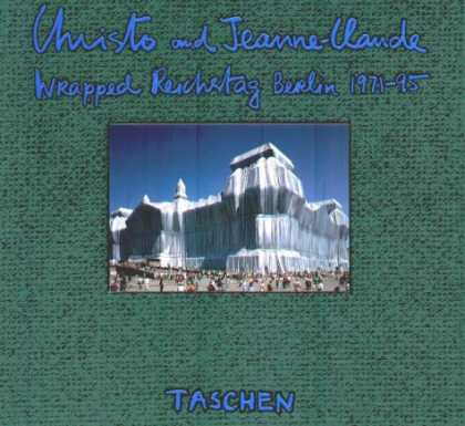 Taschen Books - Christo and Jeanne-Claude: Wrapped Reichstag, Berlin 1971-95: A Documentation Ex