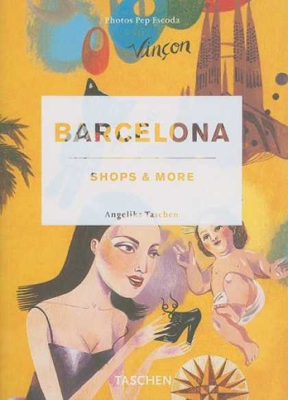 Taschen Books - Barcelona: Shops & More (French and German Edition)