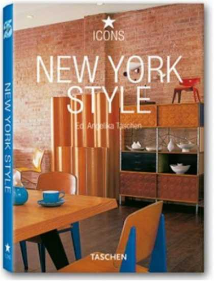 Taschen Books - New York Style: Exteriors, Interiors, Details (Icons)